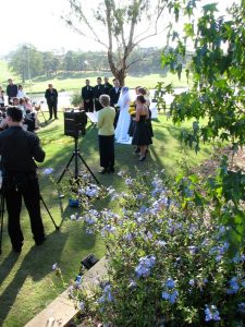 garden wedding; river bank wedding ceremony; Sydney marriage celebrant; wedding celebrant Sydney; celebrant joy; Joyful Occasions Celebrant