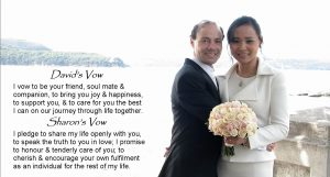 wedding vows; write your wedding vows; Joyful Occasions wedding celebrant; marriage celebrant Sydney