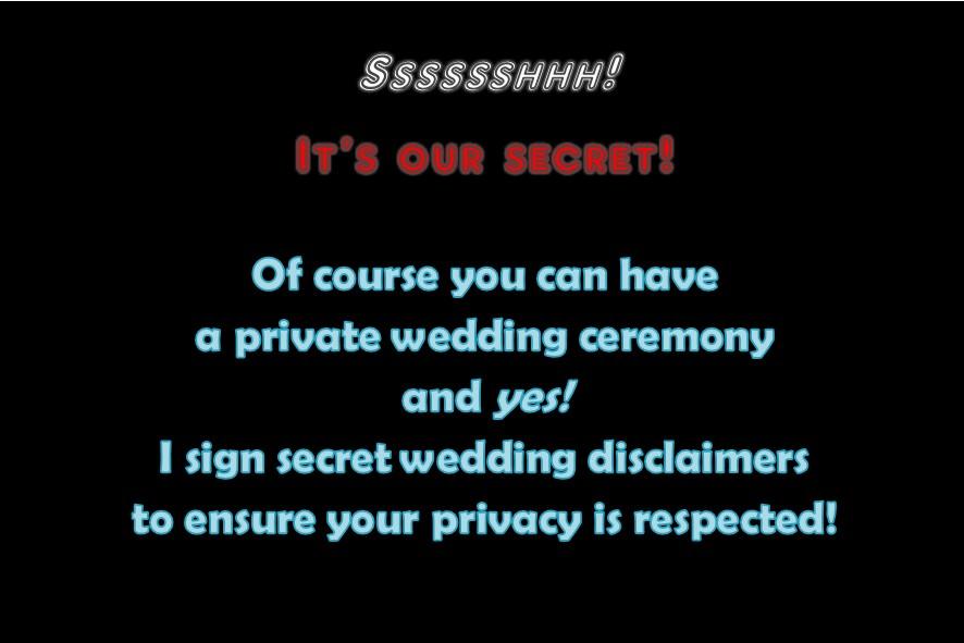 private wedding; confidential celebrant; marriage celebrant sydney; joyful occasions;