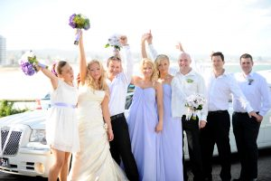 beach wedding; bridal party fun; wedding celebrant; sydney celebrant; marriage celebrant; beach wedding; sydney wedding; joyful occasions; fun wedding