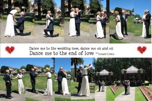 wedding ceremony; fun wedding; wedding proposal; wedding dance; magical moments; Sydney celebrant; Balmain wedding; marriage celebrant;