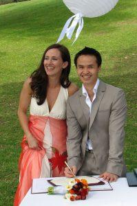 fun wedding; park wedding; casual wedding; weding love; celebrant joy; Joyful Occasions celebrant; inner west celebrant
