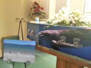 customised coffin; Sydney coffin; Something Beautiful REmains; Funeral service Sydney; Sydney fuenral celebrant